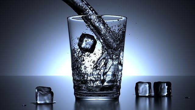 water drinken tijdens cutten