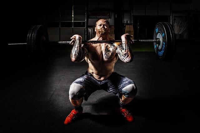 trainen met pre workout