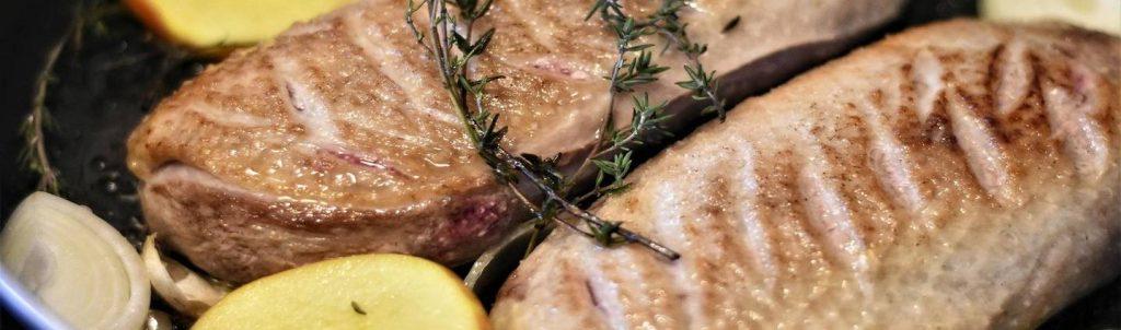 vlees op barbecue