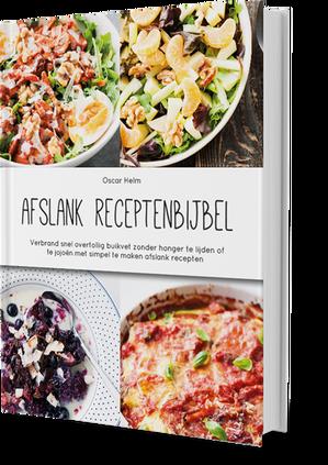 foto van receptenboek met nog meer gezonde recepten