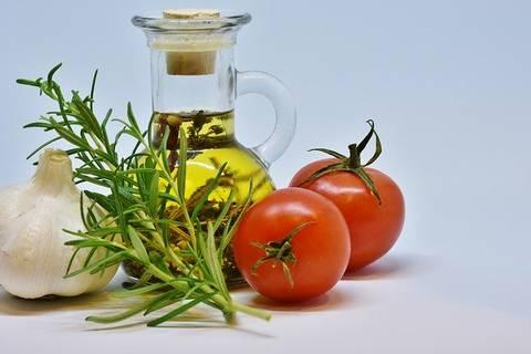dressing met olijfolie